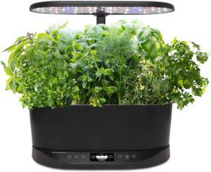 AeroGarden Bounty Basic Indoor Hydroponic Herb Garden - Black