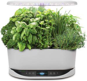 AeroGarden Bounty Indoor Hydroponic Herb Garden - White