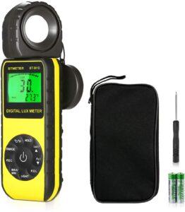 BTMETER Digital Illuminance Light Meter