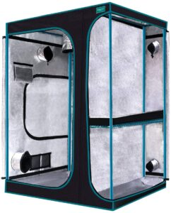 """OPULENT SYSTEMS 2-in-1 Grow Tent 60""""x48""""x80"""""""
