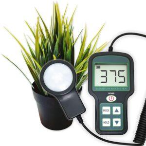 Plant PAR Meter - High Precision, Rechargeable Grow Light meter, Indoor Plants meter