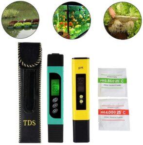 Sxstar Temperature meter and digital pH meter