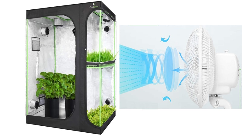 how to cool a grow tent effectively