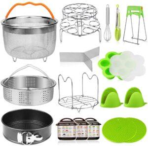 18Pcs Accessories for Instant Pot 6, 8 Quart, Pressure Cooker Accessories