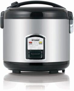 3.Oyama CFS-F12B 7 Cup Rice Cooker