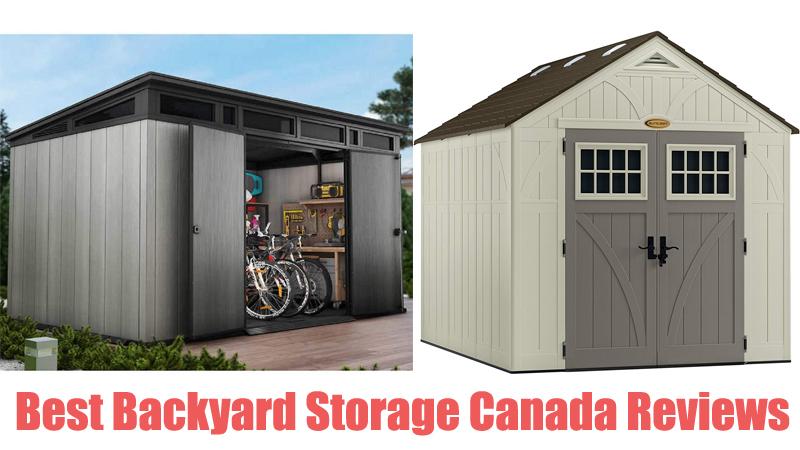 Best Backyard Storage Canada Reviews