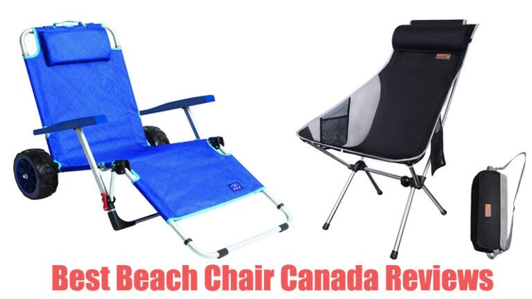 Best Beach Chair Canada Reviews