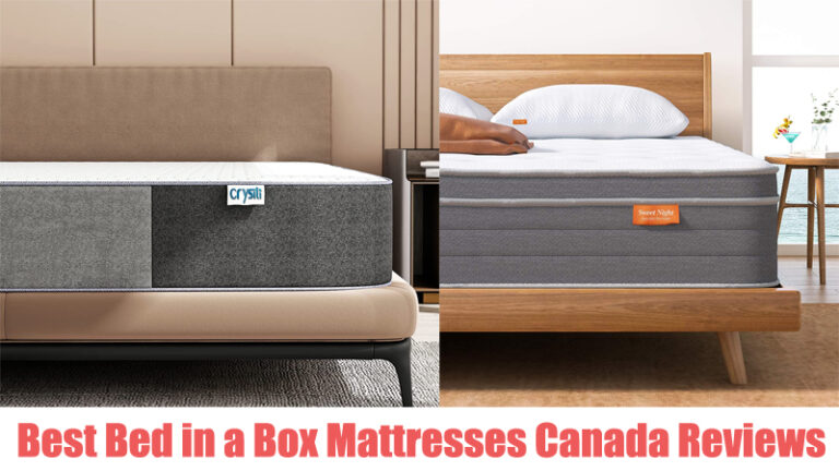 Best Bed in a Box Mattresses Canada Reviews