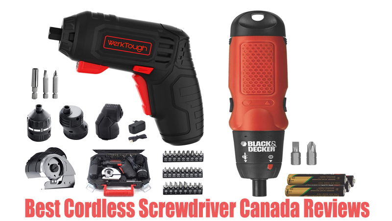 Best Cordless Screwdriver Canada Reviews