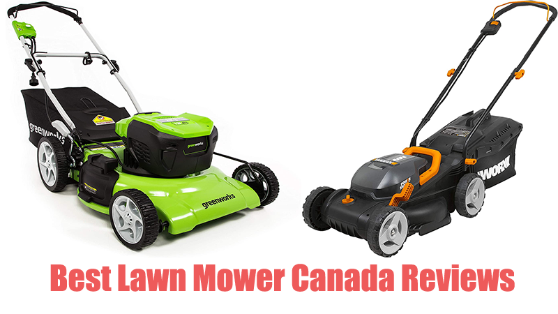 Best Lawn Mower Canada Reviews