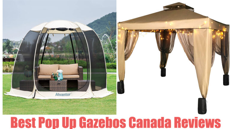 Best Pop Up Gazebos Canada Reviews