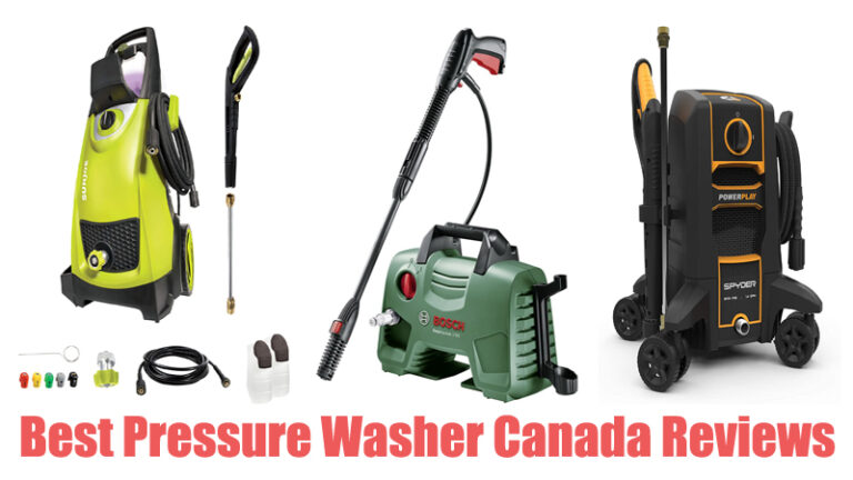 Best Pressure Washer Canada Reviews
