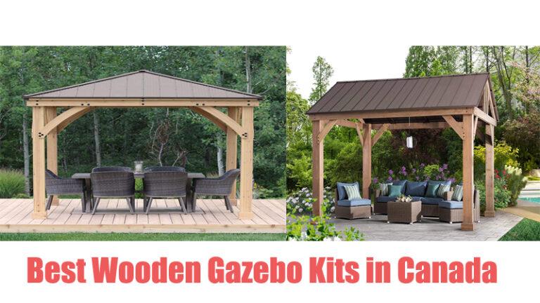 Best Wooden Gazebo Kits in Canada