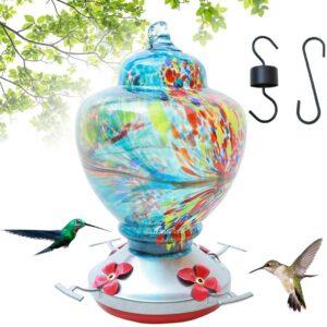 CJJCCF Hummingbird Feeder for Outdoors