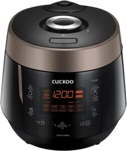 Cuckoo CRP-P1009SB 10 Cup Heating Plate Electric Pressure Rice Cooker
