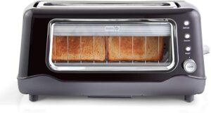 Dash DVTS501BK Toaster, 2 Slice, Black