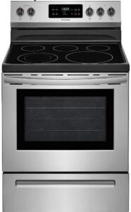 Frigidaire FFEF3054TS 5.3 Cu. Ft. Freestanding Stainless Steel Electric Range