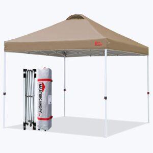 MASTERCANOPY Ez Pop-up Canopy Tent
