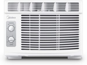 MIDEA MAW05M1BWT Window Air Conditioner, 5000 BTU