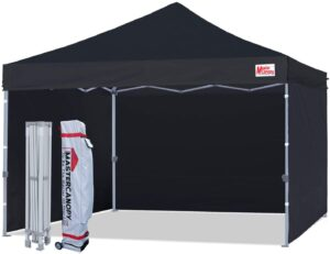 MasterCanopy Pop-up Canopy Tent Compact Instant Canopies: