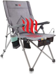 5.POP Design, The Hot Seat, Heated Portable Chair: