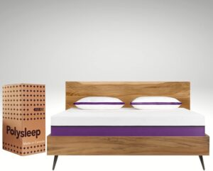 Polysleep Antimicrobial Memory Foam Mattress with Breathable Top Layer