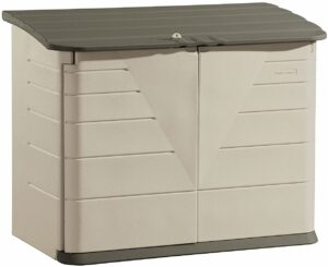 Rubbermaid 32 Cubic Feet Horizontal Storage Shed