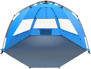 4. TAGVO Sun Shelter Beach Tent