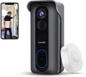 Wireless Doorbell Waterproof Detection by KAMEP Store