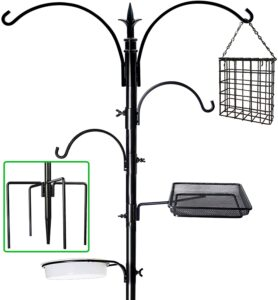 "yosager 91"" x 23"" Premium Bird Feeding Station Kit, Bird Feeder Pole"